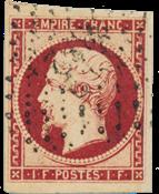 France - 1853 -  YT 18 - Oblitéré