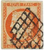 France - 1850 -  YT 5 - Oblitéré