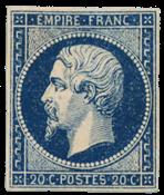 Frankrig 1854 -  YT 14Aa - Ubrugt