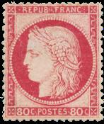 France - 1872 -  YT 57 - Neuf avec charnière