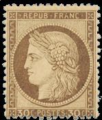 France - 1872 -  YT 56 - Neuf avec charnière