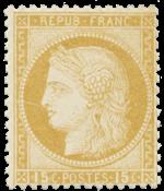 France - 1873 -  YT 55 - Neuf avec charnière