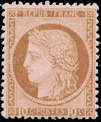 France - 1875 -  YT 54 - Neuf avec charnière