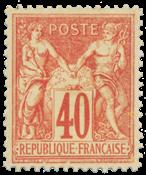 Frankrig 1878 -  YT 70 - Ubrugt