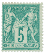France - 1876 -  YT 64 - Neuf avec charnière