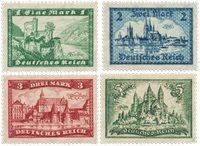 Empire Allemand - 1924 -  Michel 364/367 - Neuf