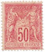 France - 1890 -  YT 98 - Neuf avec charnière