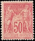 Frankrig 1890 -  YT 98 - Ubrugt