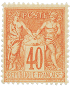 Frankrig 1881 -  YT 94 - Ubrugt