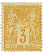 Frankrig 1878 -  YT 86 - Ubrugt
