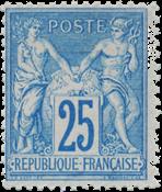 Frankrig 1876 -  YT 78 - Ubrugt