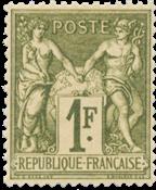 France - 1876 -  YT 72 - Neuf avec charnière