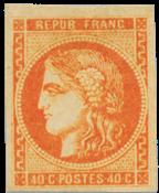 Frankrig 1870 -  YT 48 - Ubrugt