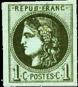 Frankrig 1870 -  YT 39A - Ubrugt