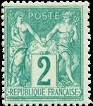 France - 1876 -  YT 74 - Neuf avec charnière