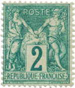 France - 1876 -  YT 62 - Neuf avec charnière