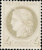 France - 1872 -  YT 52 - Neuf avec charnière