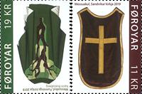 Îles Féroé - Chasubles - Timbre neuf