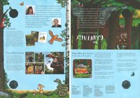 Great Britain - The Gruffalo - PNC / Coin Cover