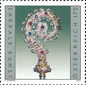 Autriche - Crosse épiscopale - Timbre neuf