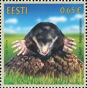 Estonie - Taupe - Timbre neuf