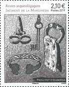 Francia - Arqueología - Sello nuevo