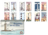 France - Lighthouses - Mint booklet
