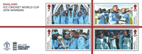 Grande-Bretagne - Coupe du Monde de cricket Hommes - Bloc-feuillet neuf