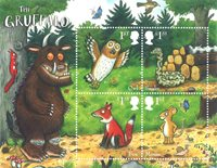 Great Britain - The Gruffalo - Mint souvenir sheet