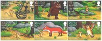 Great Britain - The Gruffalo - Mint set 6v