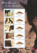 Namibia - Heste - Postfrisk ark