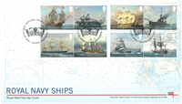 Gran Bretaña - Armada Real - Sobre 1er día