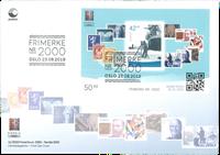 Norge - Nordia 2019 - Miniark på FDC