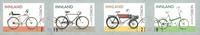 Norvège - Bicyclettes - Série obl. 4v