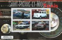 St Pierre & Miquelon - Taxis - Bloc-feuillet neuf