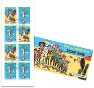 Frankrig - Lucky Luke - Stemplet frimærkehæfte