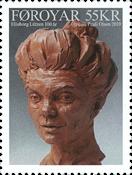 Færøerne - Elinborg Lützen - Postfrisk frimærke