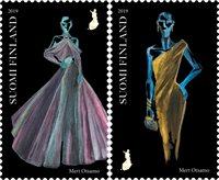 Finlande - Robes et design - Série neuve 2v