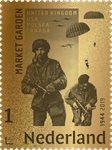 Nederland - Battle of Arnhem gold postzegel24 carat - Postfrisse postzegel in box