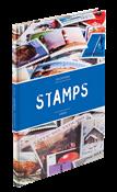 STAMPS-säiliökirja - A5 - Sininen - 16 sivua