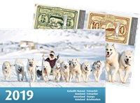 Grønland - Årsmappe 2019 - Årsmappe postfrisk