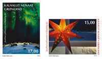Grønland - Julen 2019 - Postfrisk sæt 2v