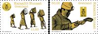 Grønland - Kulmærker - Postfrisk sæt 2v