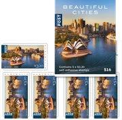 Australia - Beautiful cities 5x3,2 - Mint booklet
