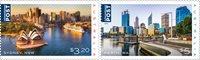 Australia - Beautiful cities - Mint set 2v
