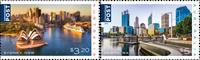 Australia - Ciudades bonitas - Serie 2v. nuevo