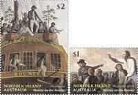 Îles Norfolk - Mutinerie du Bounty - Série neuve 2v