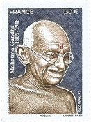France - Gandhi - Timbre neuf
