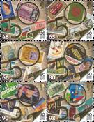 Guernesey - Cinquantenaire de l'indépendance postale - Série neuve 6v
