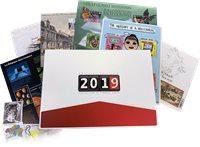 Belgien - Årsmappe 2019 - Postfrisk årsmappe 2019